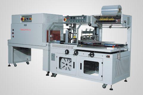 FL5545TBC/M+SM5030经济型边封收缩包装机