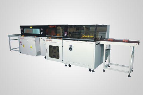 FL5545TBH+SM5030LX高速边封收缩包装机